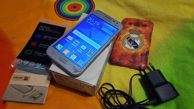 Смартфон Samsung Galaxy Core Prime VE G361H Silver+ чехол накладка