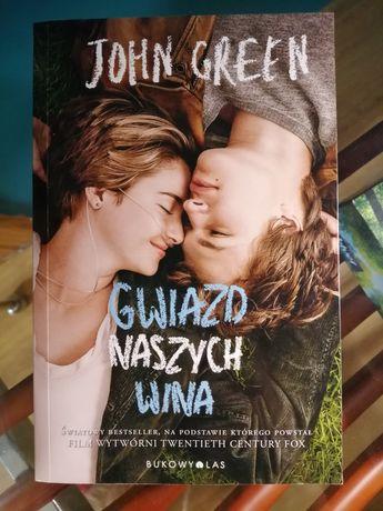 Książka jak nowa Gwiazd naszych wina autor John Green