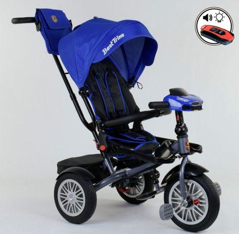 Детский трехколесный велосипед премиум качества BEST TRIKE 9288 B