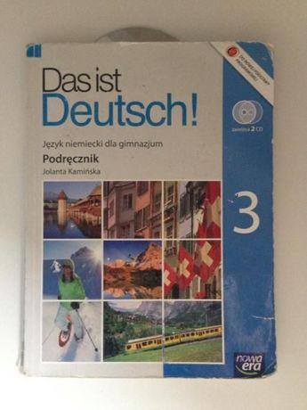 Podręcznik do Niemieckiego Das ist Deutsch 3
