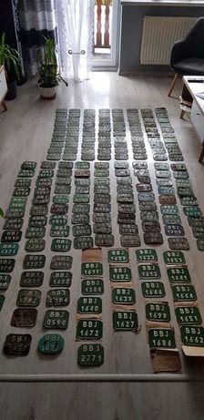 204 sztuki tablic kolekcjonerskich motorower komar  ryś żak motorynka