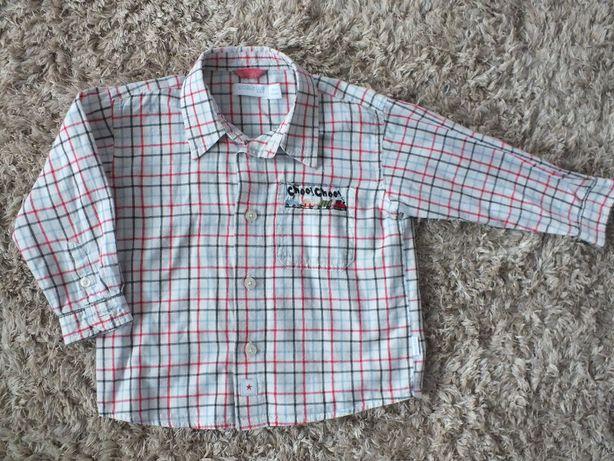 Rozm. 80 - koszula na długi rękaw Cool Club