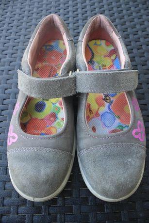 Dziewczęce buty - balerinki - rozm. 33