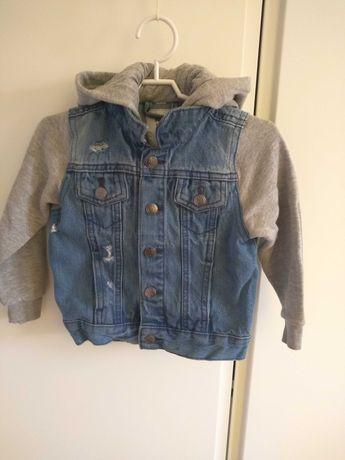 Bluza jeansowa chłopięca 92