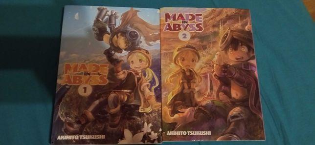 """""""Made in Abyss"""" manga Tom 1 i 2"""