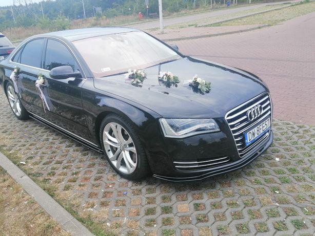 Auto do ślubu Audi a8 oraz a6