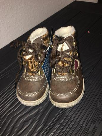 Nowe buty Ocieplane na zimę rozmiar 20.