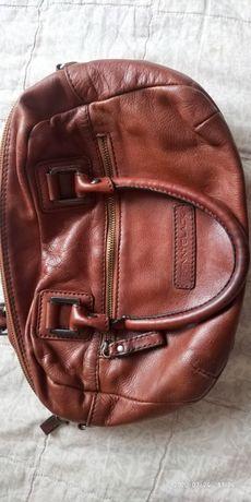 Кожаная сумка Penny Black