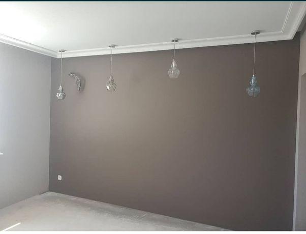 Покраска квартир домов офисов,стен,потолков