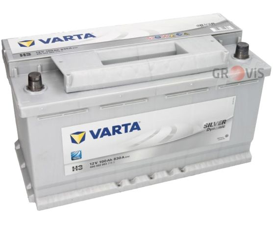 Akumulator VARTA Silver Dynamic 12V 100Ah 830A H3 Wymiana Dowóz Montaż