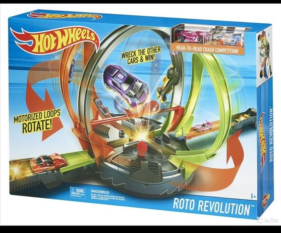 Игрушка Hot Wheels Трек Хот Вилс Революционные гонки Hot Wheels