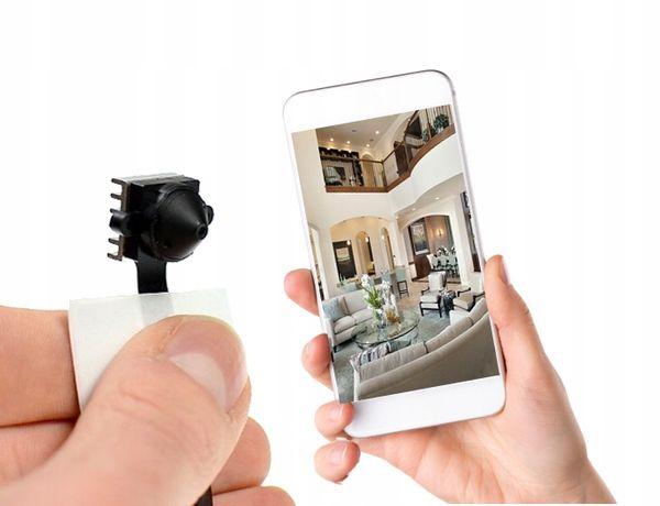 Mini kamerka do ukrycia tryb nocny WIFI podgląd na Żywo app IR SONY