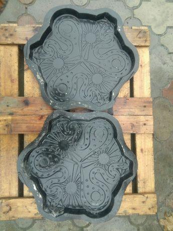 Продам формы для производства тротуарной плитки