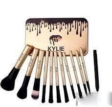 Набор кистей для макияжа Kylie 12 шт в коробке