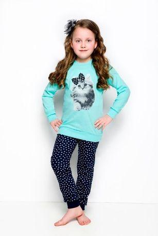 Piżamka bawełniana dziewczęca roz.110