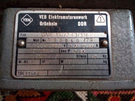 Электро-двигатель 220/380v