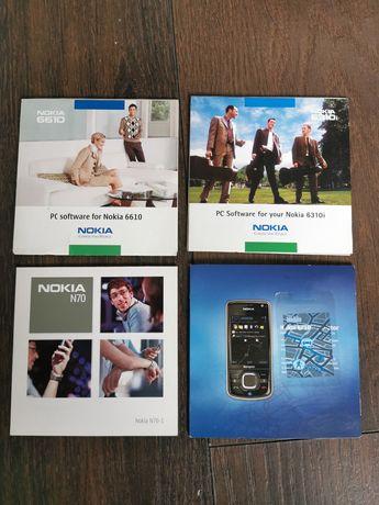PC software Nokia N70, 6210, 6610, 6310i rarytas oprogramowanie
