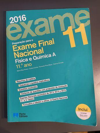 Livro preparacao para o exame final Fisica e Quimica 2016