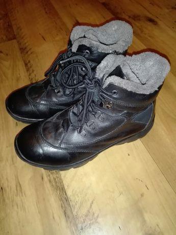 Черевики чоботи зимові шкіряні 38 і 39-40 р Ботинки сапоги зимние кожа