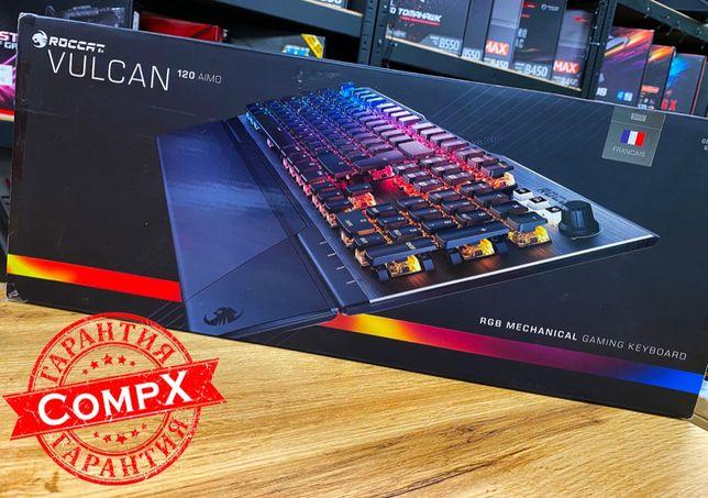 МЕГА крутая клавиатура Roccat Vulcan 100/120 (RGB/USB) CompX!