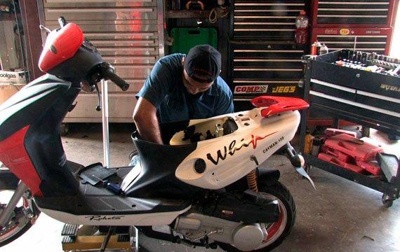 Ремонт и обслуживание скутер ,а также другой мототехники !