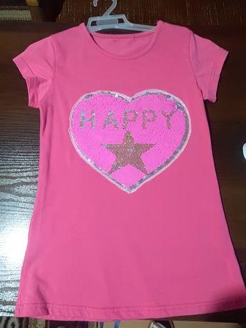 Koszulka dziewczęca 146