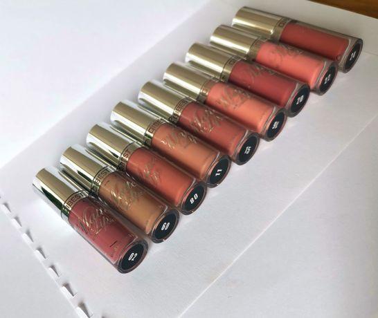 Mat zestaw 9 szminek matowe matowy w płynie szminka