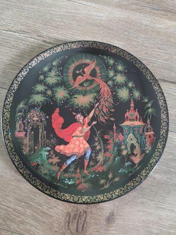 Колекційна (декоративна) тарілка палєх (палех)