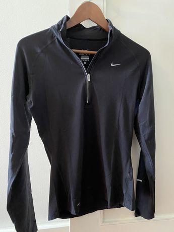 Casaco preto Nike para corrida dry fit XS