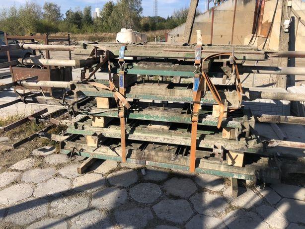 Formy do produkcji ruszt betonowych dla trzody.