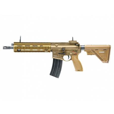 zestaw Replika karabinek ASG Heckler&Koch HK416 A5 RAL8000 6 mm green