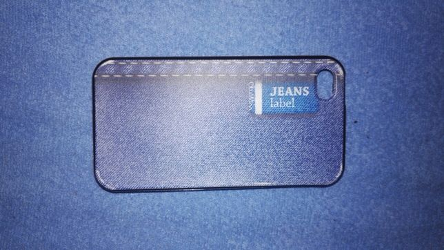 Etui jeans iPhone 4/4s cropp chillin jeans label