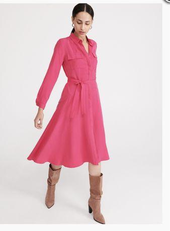 Платье ярко розовое Reserved