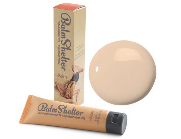 Тональный крем thebalm balmshelter tinted moisturizer dior ysl chanel
