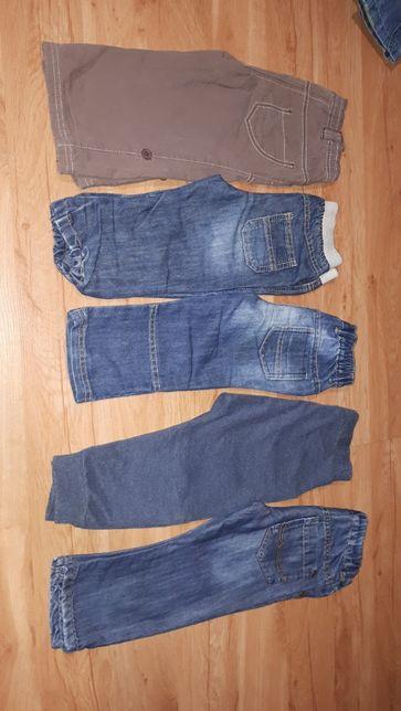 Spodnie chłopięce na 86cm