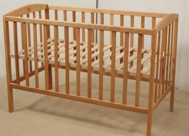 Деревянная детская кроватка Бук (Новая) 500грн.
