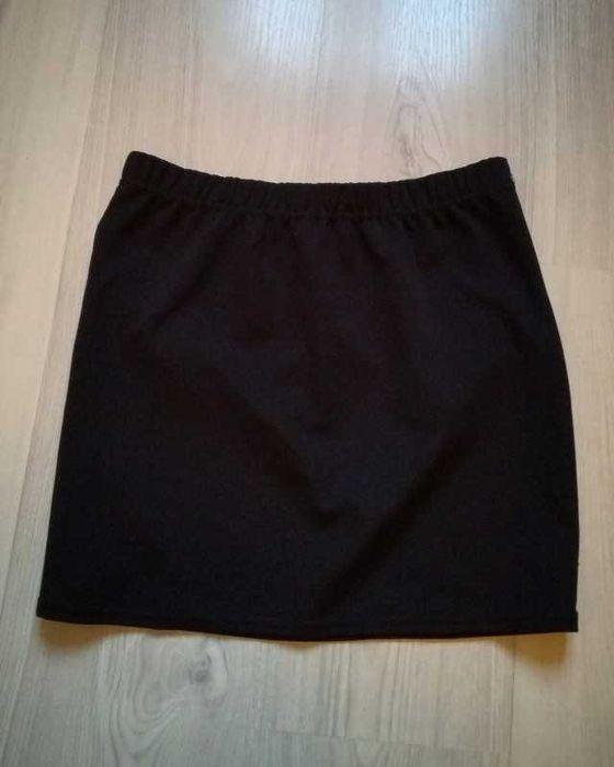 czarna spódnica klasyczna na gumke Warszawa - image 1