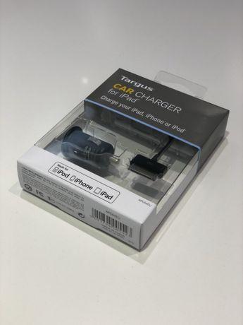 Novo - Carregador carro Targus IPad iPod iPhone