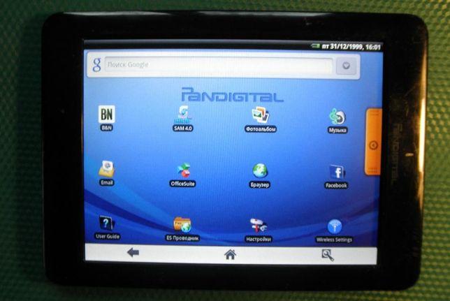 Планшет Pandigital pad07t20wbl1 на запчасти