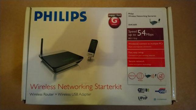Router Philips mais pen USB wireless
