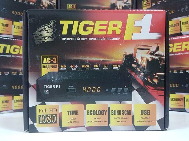 Новый DVB-S спутниковый ресивер Tiger F1 Mpeg4 тюнер Прошит Гарантия