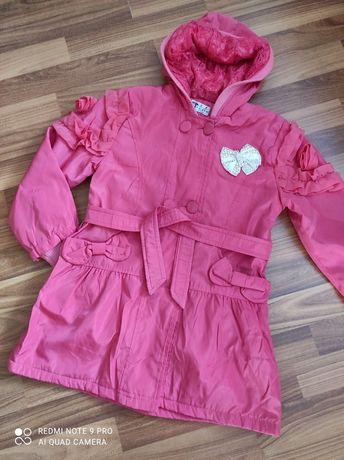 Весенняя курточка плащ для девочки