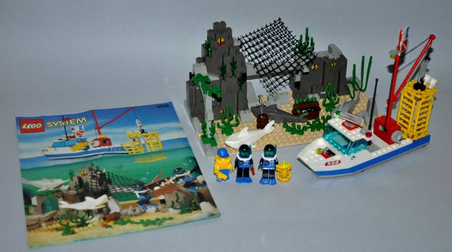 Lego System Divers 6558 Shark Cage Cove
