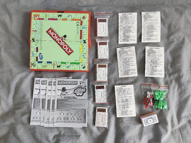 Skandynawskie Monopoly Grab&Go (podróżne; Norwegia, Islandia, Szwecja)
