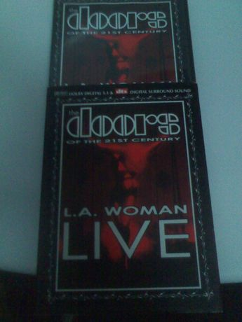 The Doors of the 21 st century L.A. Woman live DVD como novo