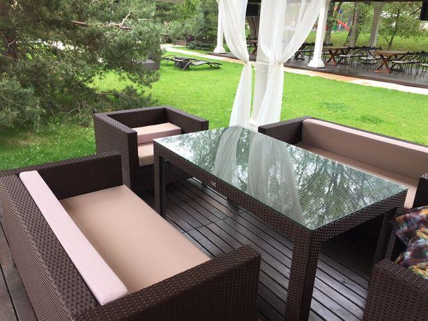 Диван кресла стол с ротанга