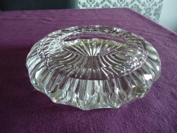 Duża popielnica kryształowa 15 cm