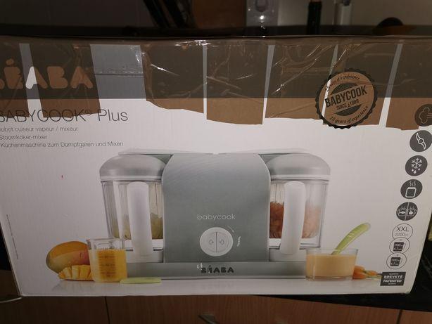 Robot de cozinha BabyCook plus - a vapor e papas de fruta