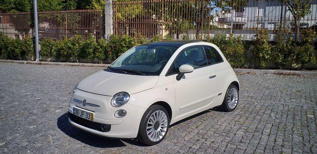 Fiat 500 + 70.000 Km + Nacional + 1.2 Lounge + Manutenção na Marca