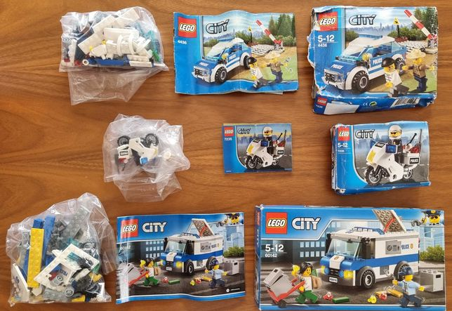 Pack Lego City Police